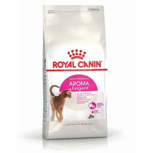 Фото упаковки корма Royal Canin EXIGENT AROMATIC
