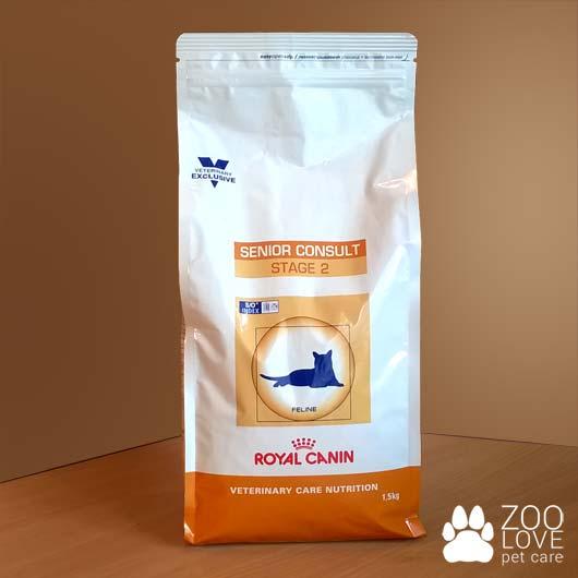 Упаковка корма Royal Canin Senior Consult Stage 2, 1,5 кг