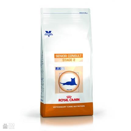 Упаковка корма Royal Canin Senior Consult Stage 2