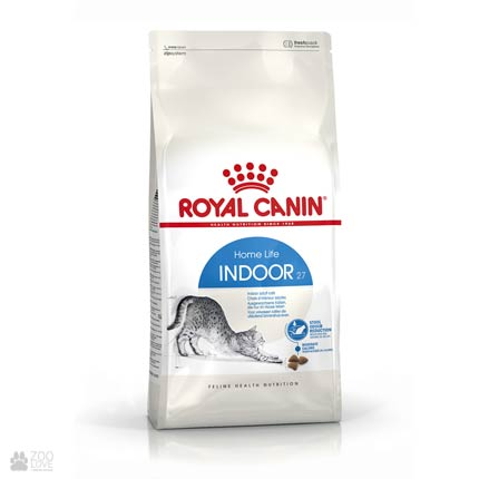 Фото упаковки корма для кошек, живущих в помещении, Royal Canin INDOOR 4 кг