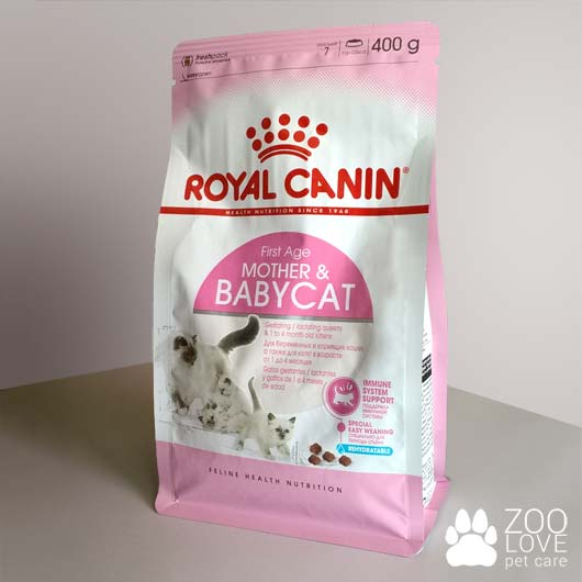 Упаковка корма Royal Canin MOTHER & BABYCAT, 400 г