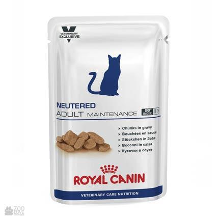 Корм Роял Канин для стерилизованных кошек Royal Canin NEUTERED ADULT MAINTENANCE (пакетик / пауч)