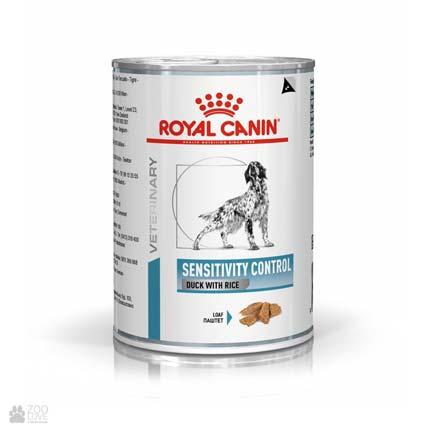 Ветеринарные консервы для собак Royal Canin SENSITIVITY CANINE DUCK