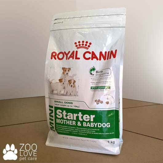 Упаковка корма Royal Canin MINI STARTER, 1 кг