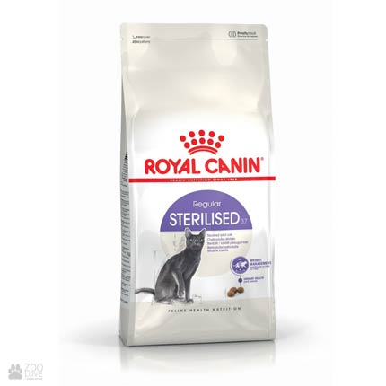 Фото корма для стерилизованных кошек Royal Canin STERILISED от 1 до 7 лет