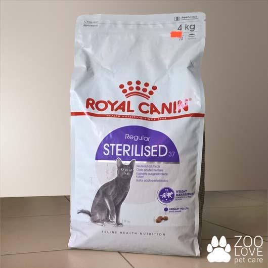 Упаковка сухого корма Royal Canin для стерилизованных кошек, 4 кг
