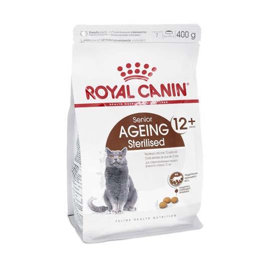 Изображение корма Royal Canin Ageing Sterilised 12+, 400 г