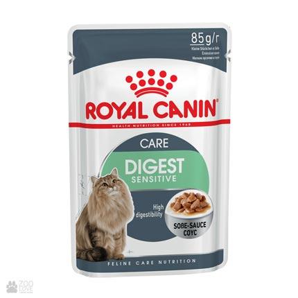 Консервы для котов с чувствительным пищеварением Royal Canin DIGEST SENSITIVE