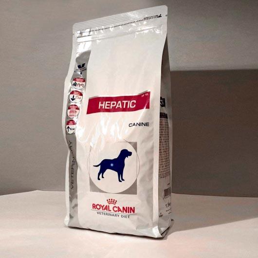Фото корма для собак с больной печенью Royal Canin HEPATIC, упаковка 1,5 кг