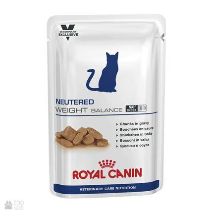Корм консервы для кошек, склонных к избыточному весу, Royal Canin NEUTERED WEIGHT BALANCE