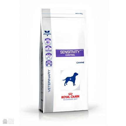 Изображение упаковки корма Royal Canin SENSITIVITY Control для собак