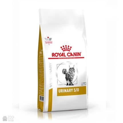 Лечебный корм для кошек Royal Canin URINARY S/O (дизайн с 2019 года)