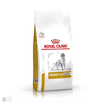 Royal Canin Urinary S/O Ageing 7+, корм для собак при лечении и профилактике мочекаменной болезни
