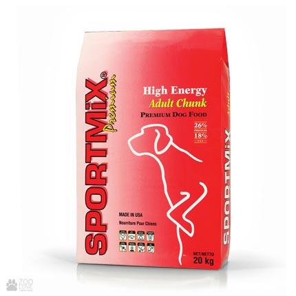 корм для собак Sportmix High Energy Adult Chunk