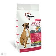 1st Choice Adult Sensitive Lamb & Fish, корм для собак с чувствительным пищеварением