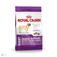 Royal Canin Giant Junior Active, корм для активных щенков крупных пород