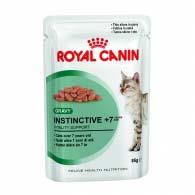 Royal Canin Instinctive +7 в соусе 85 г, корм для котов старше 7 лет