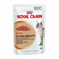 Royal Canin Intense Beauty в соусе 85 г, корм для здоровой кожи и красивой шерсти у кошек