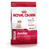 Royal Canin Medium Junior, корм для щенков средних пород до 12 месяцев