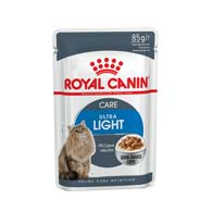 Royal Canin Ultra Light, корм для склонных к избыточному весу кошек