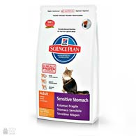 Hill's Science Plan Feline Sensitive Stomach, 1,5 кг, корм для кошек