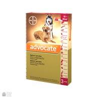 Bayer Advocate, антигельминтные и инсектоакарицидные капли для собак, весом от 10 до 25 кг