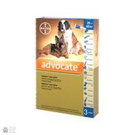 Bayer Advocate, антигельминтные и инсектоакарицидные капли для собак, весом более 25 кг
