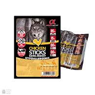 Alpha Spirit Sticks Chicken, лакомство для собак, палочки их мяса курицы, 4 штуки