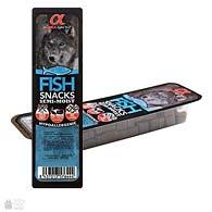 Alpha Spirit Snacks Fish, корм-лакомство для собак, кубики с рыбой