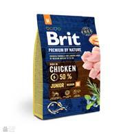 Brit Premium Junior M, корм для щенков средних пород
