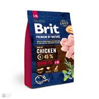 Brit Premium Senior L+XL, корм для пожилых собак крупных пород с курицей
