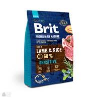 Brit Premium Adult Sensitive Lamb & Rice, корм для собак с ягненком и рисом