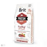 Brit Fresh Beef/Pumpkin Puppy Large, корм для щенков крупных пород, говядина c тыквой