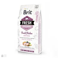 Brit Fresh Chicken/Potato Puppy, корм для щенков, с курицей и картофелем