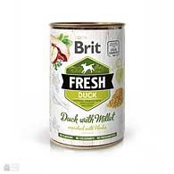 Brit Fresh Duck/Millet, консервы для собак, утка, пшено