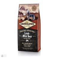Carnilove Adult Lamb & Wild Boar, корм для собак, ягненок и дикий кабан