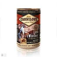 Carnilove Dog Lamb & Wild Boar Grain Free, беззерновые консервы для собак с ягненком и кабаном