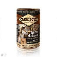 Carnilove Dog Reindeer Grain Free, беззерновые консервы для собак с северным оленем