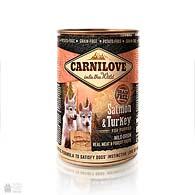 Carnilove Puppy Salmon & Turkey Grain Free, беззерновые консервы для щенков с лососем и индейкой