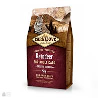 Carnilove Energy & Outdoor Reindeer Grain Free, корм для кошек с активным образом жизни