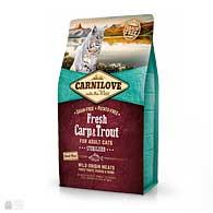 Carnilove Sterilised Fresh Carp & Trout, корм для стерилизованных котов