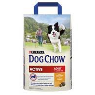 Purina Dog Chow Active Adult с курицей 2,5 кг, корм для активных собак