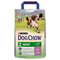 Purina Dog Chow Adult Lamb 2,5 кг, корм сухой для собак с ягненком