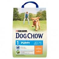 Purina Dog Chow Puppy с курицей 2,5 кг, корм для щенков