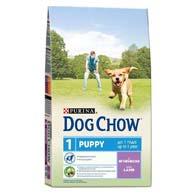 Purina Dog Chow Puppy с ягненком 2,5 кг, корм для щенков