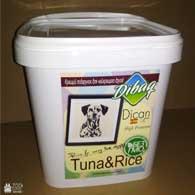 Dican Up Tuna And Rice, сухой корм для взрослых собак, 5 кг (ведро)