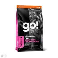 GO! Grain Free Chicken Recipe, корм для взрослых собак и щенков, с курицей