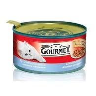 Purina Gourmet с форелью, лососем 195 г, корм для кошек