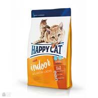 Happy Cat Adult Indoor Atlantik-Lachs, сухой корм с лососем для кошек