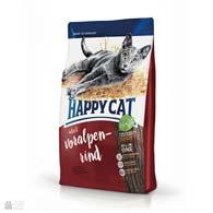 Happy Cat Adult Voralpen-Rind, сухой корм с говядиной для кошек